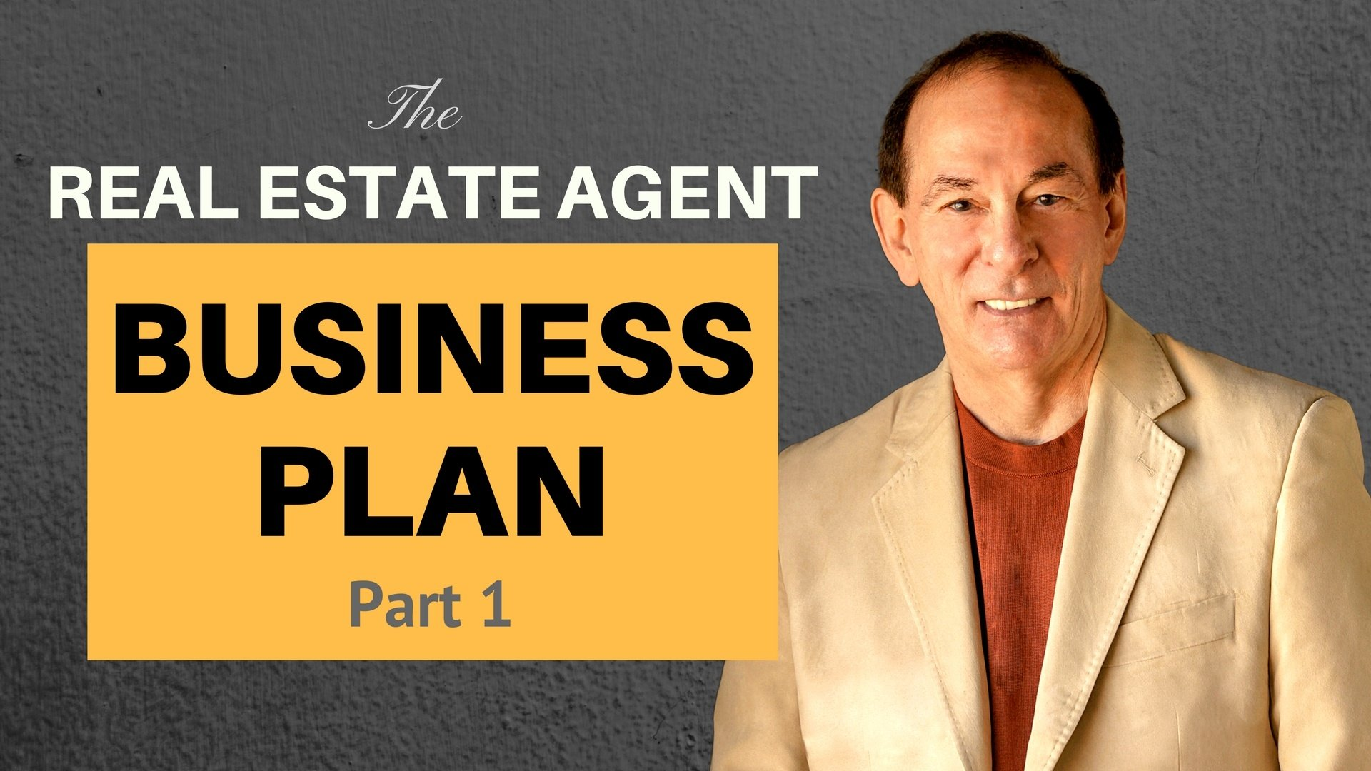 Real Estate Agent Business Plan - Part 1
